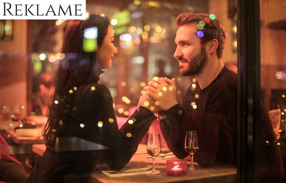 En perfekt afslutning på en romantisk aften